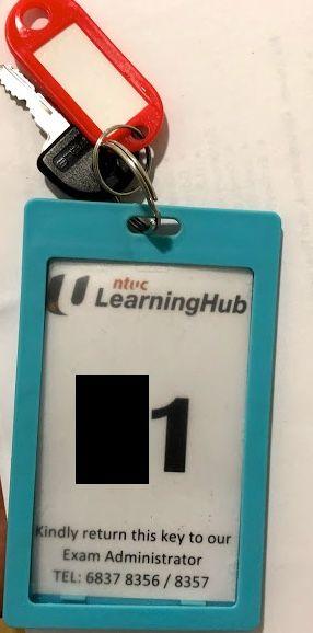 NTUC Learning Hub - Bras bash Road - Test Center - Locker Info