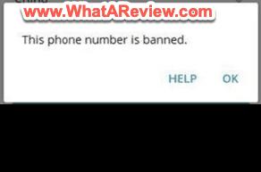 Desktop Telegram Your Phone Number Banned